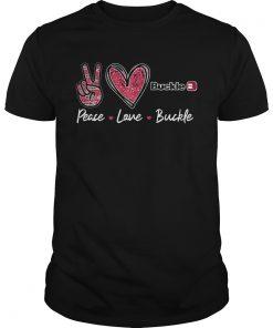 Peace Love Buckle  Unisex