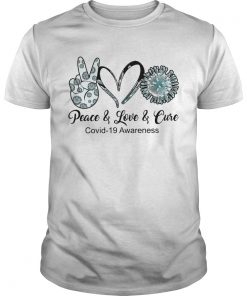 Peace Love Cure Coid19 Awareness  Unisex