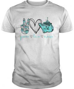 Peace Love Cure Cruise  Unisex