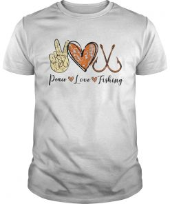 Peace Love Cure Fishing  Unisex