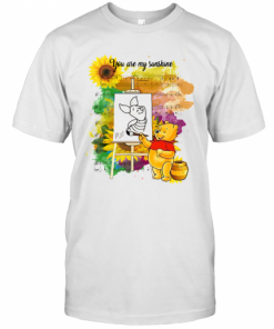 Pooh You Are My Sunshine Sheet Music T-Shirt Classic Men's T-shirt