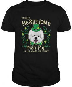 Pretty Bichon Frise Dog Gifts St Patricks Day  Unisex