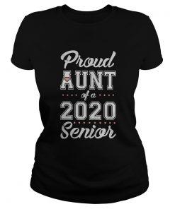 Proud Aunt Of A 2020 Senior  Classic Ladies