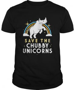 Rainbow Save The Chubby Unicorns  Unisex