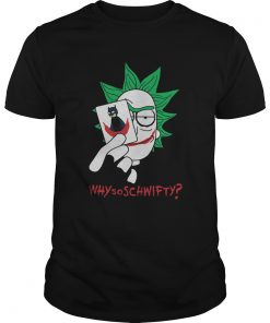 Rick Sanchez Joker Why So Schwifty  Unisex