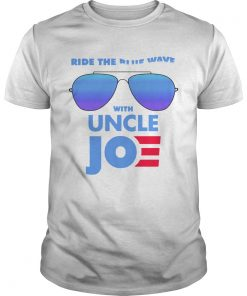 Ride the Blue Wave with Uncle Joe Biden  Unisex
