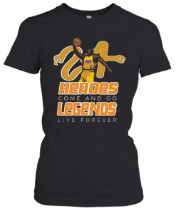 Rip Kobe Black Mamba Out Heroes Come And Go Legends Live Forever T-Shirt Classic Women's T-shirt