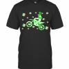 Shamrock Dirt Bike Ireland Flag St Patrick'S Day Biker T-Shirt Classic Men's T-shirt