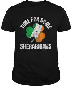 Shenanigans St Patricks Day Time For Some Shenanigans  Unisex