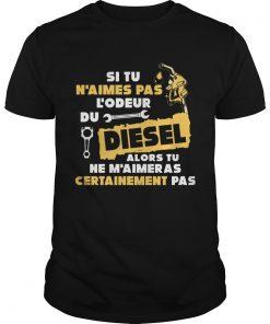Si Tu Naimes Pas Lodeur Du Diesel Alors Tu Ne Maimer As Certainement Pas  Unisex