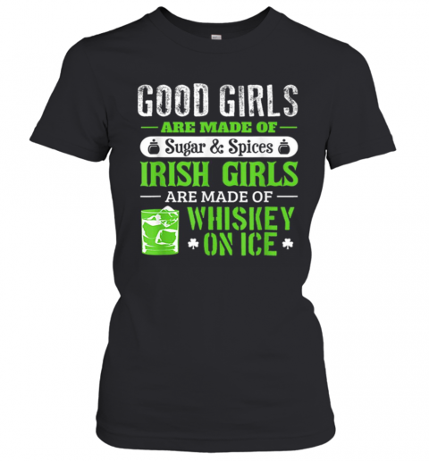 St Patrick'S Day For Women Good Girls Irish T-Shirt Classic Women's T-shirt