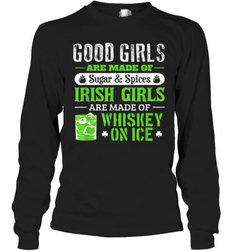 St Patrick'S Day For Women Good Girls Irish T-Shirt Long Sleeved T-shirt