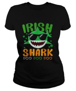 St Patricks Day Irish Shark Funny Gift For Men Women Kids  Classic Ladies