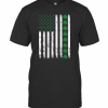 St. Patrick'S Day IRISH AMERICAN Shamrock Flag T-Shirt Classic Men's T-shirt