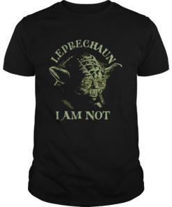 Star Wars Yoda Leprechaun I Am Not St Patricks Day  Unisex