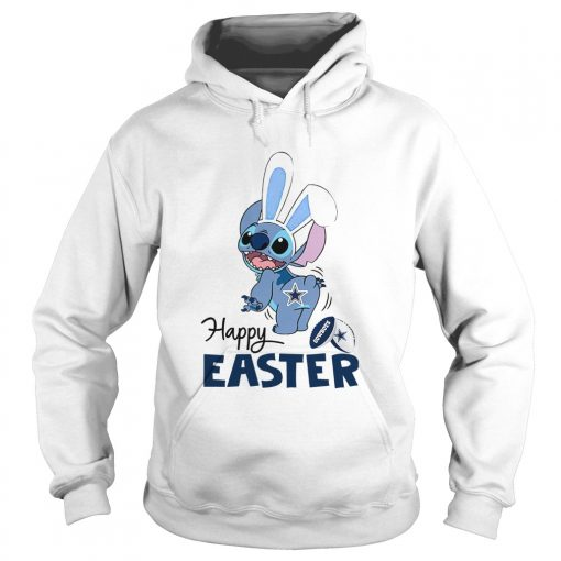 Stitch Dallas Cowboys Happy Easter  Hoodie