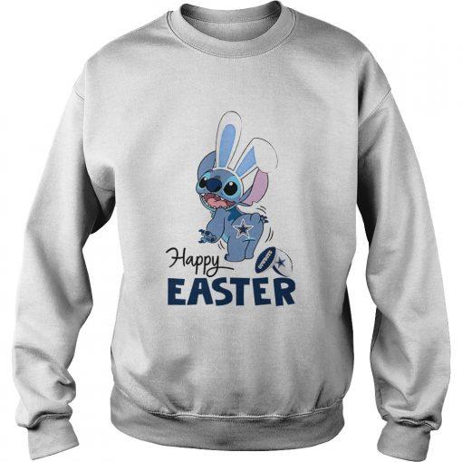 Stitch Dallas Cowboys Happy Easter  Sweatshirt