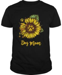 Sunflower Dog Mom  Unisex