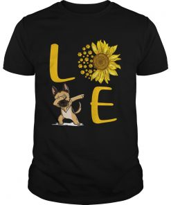 Sunflower Love dabbing dog  Unisex