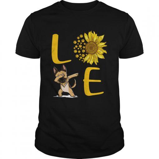 Sunflower Love dabbing dog  Unisex