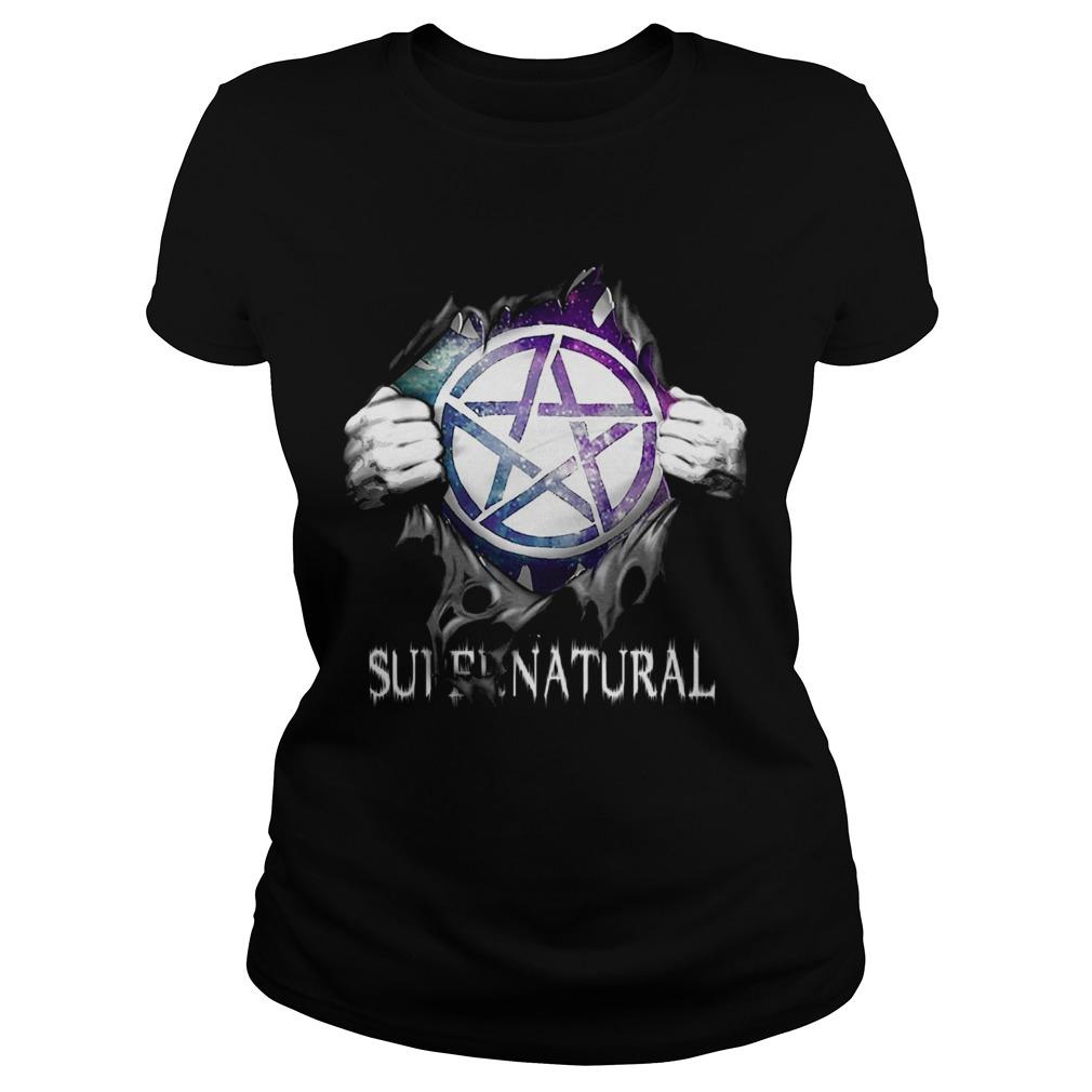 Supernatural Blood Inside Me Classic Ladies