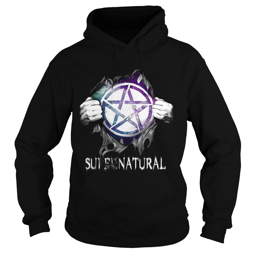 Supernatural Blood Inside Me Hoodie