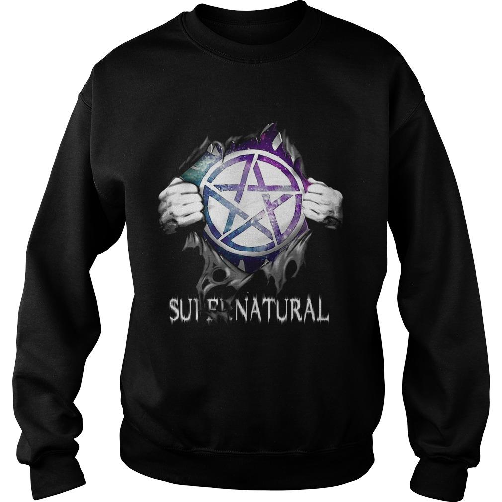 Supernatural Blood Inside Me Sweatshirt