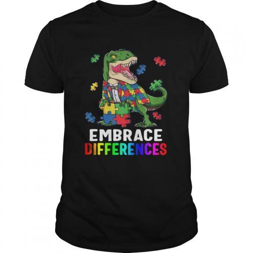 TRex Dinosaur Puzzle Piece Autism  Unisex