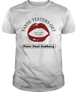 Taste testers get peter paul cadbury  Unisex