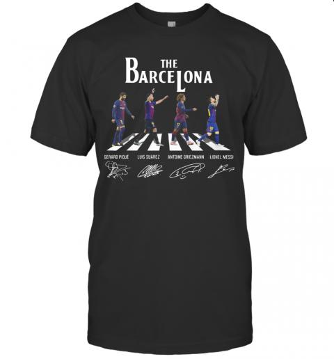The Barcelona Crosswalk Signatures T-Shirt Classic Men's T-shirt