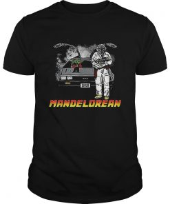 The Mandalorian and Baby Yoda Mandelorean DMC DeLorean  Unisex