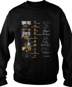 The Pianist Itzhak Heller Wilm Hosenfeld Henryk Polish Workman Signatures  Sweatshirt