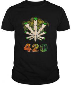 The Smoke Circle 420 Weed  Unisex