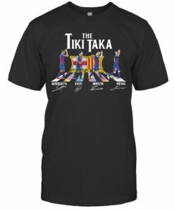 The Tiki Taka Crosswalk Signatures T-Shirt Classic Men's T-shirt