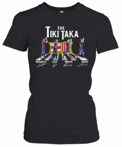 The Tiki Taka Crosswalk Signatures T-Shirt Classic Women's T-shirt