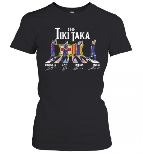 The Tiki Taka Crosswalk Signatures T-Shirt Classic Women's T-shirt