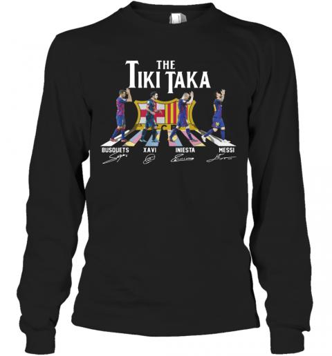 The Tiki Taka Crosswalk Signatures T-Shirt Long Sleeved T-shirt