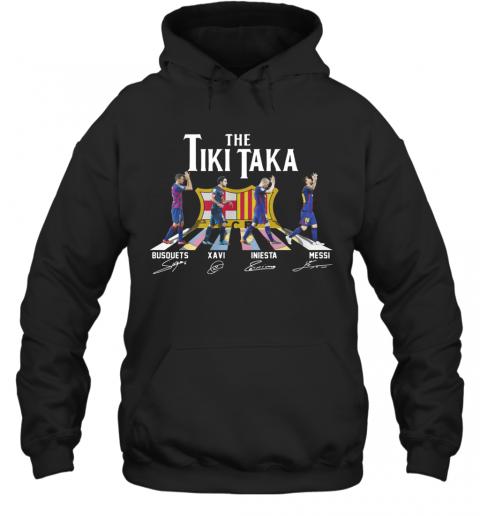 The Tiki Taka Crosswalk Signatures T-Shirt Unisex Hoodie