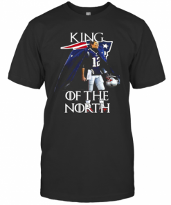 Tom Brady New England Patriots 12 King Of The North GOT T-Shirt Classic Men's T-shirt