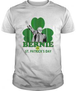 Top Bernie Sanders For St Patricks Day 2020 President Shamrock  Unisex