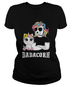 Unicorn Papa Dadacorn  Classic Ladies