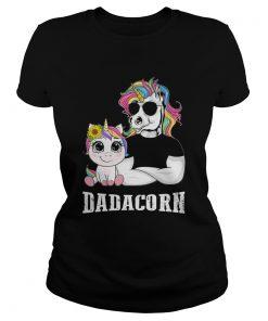 Unicorn Papa Dadacorn  Classic Ladies