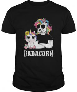 Unicorn Papa Dadacorn  Unisex