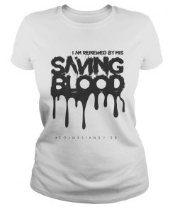 Unique Casual Cotton Saving Blood Christian Cute Top  Classic Ladies