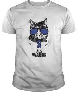Vintage Cat ALS Awareness ALS  Unisex