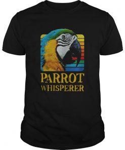 Vintage Parrot Whisperer Unisex