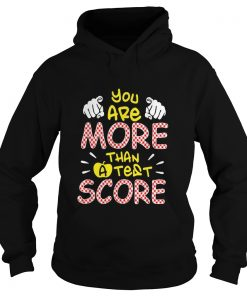 You are more than a test score  Hoodie