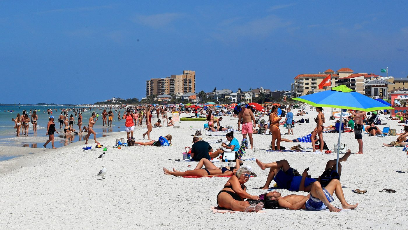 Jacksonville beaches reopen in Florida as states begin easing stay-at-home restrictions