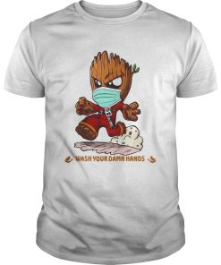 Baby Groot Wash Your Damn Hands  Unisex