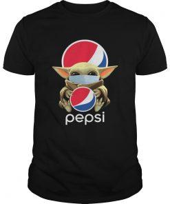 Baby Yoda Mask Hug Pepsi  Unisex